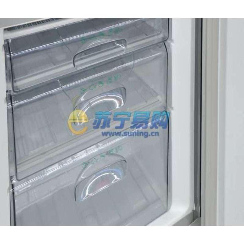 容声冰箱bcd-202k-a61(拉丝银)高清实拍图
