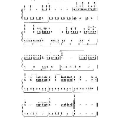快乐简谱钢琴2