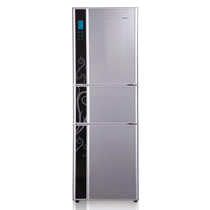 华日(HUARI) BCD-237KEB 237升 三门冰箱(银色)