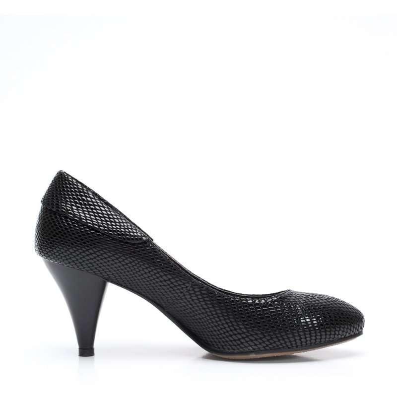 senda 森达2012春季黑芝牛女单鞋4ad61d 34高清实拍图