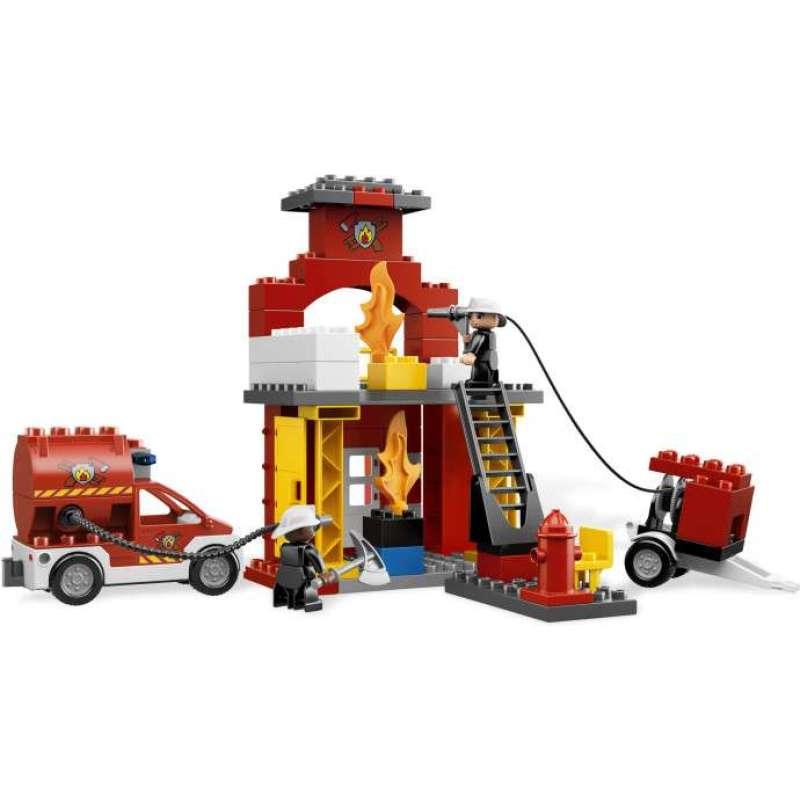 乐高消防局l6168 lego拼插玩具