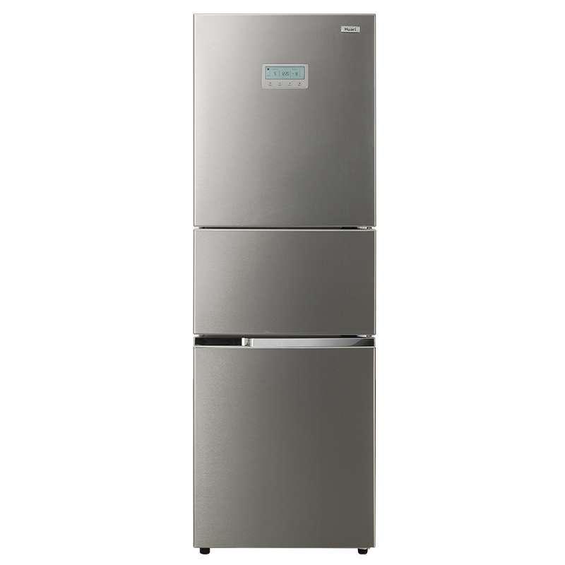 华日(HUARI) BCD-217KDC 217升 三门冰箱(不锈钢色)