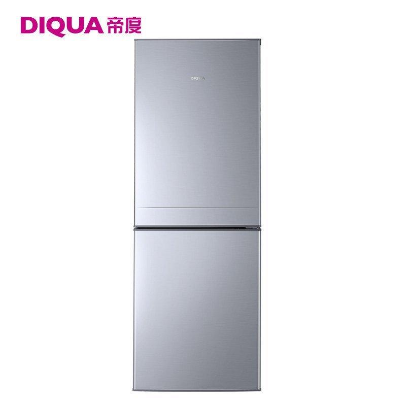 帝度(DIQUA) BCD-180Y 180升两门冰箱(亮银横纹)