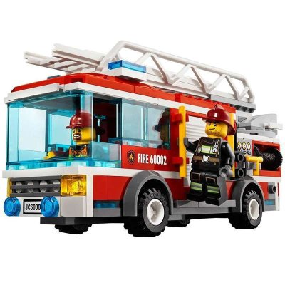 乐高 大型消防车 60002