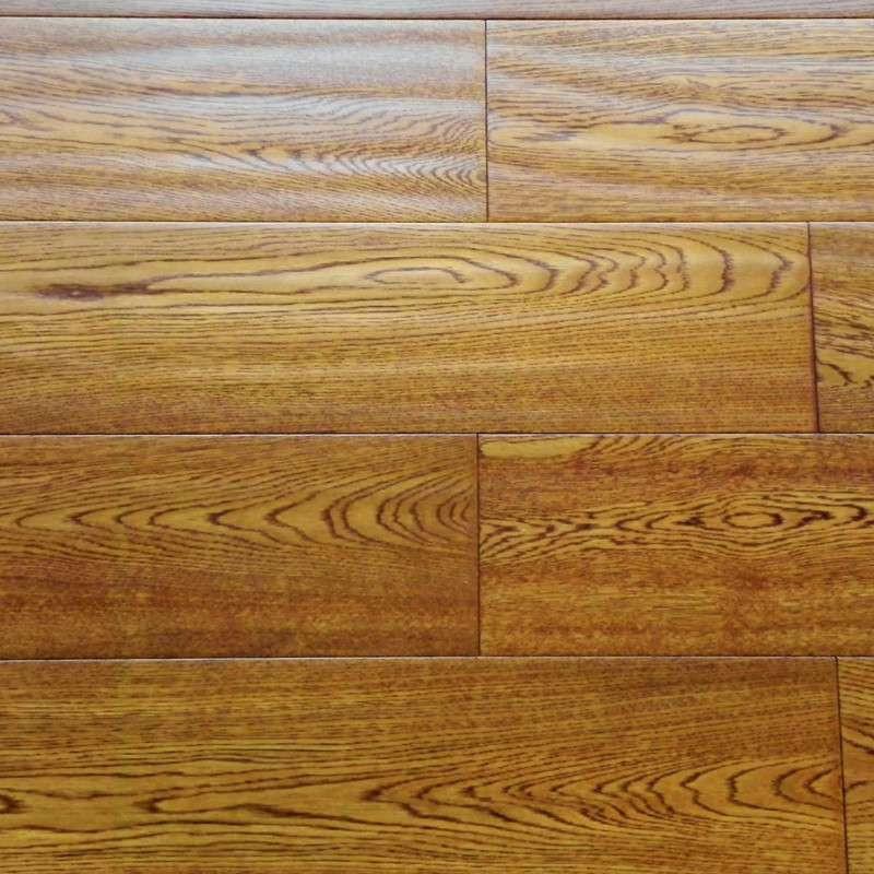 贝尔地板 多层实木复合地板15mm 地热地暖加厚保温 柞木 玻利维亚雨橡