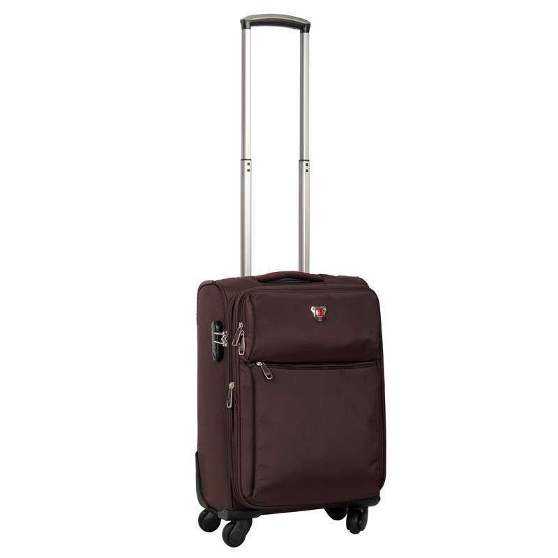 棕色旅行箱20寸万向轮商务登机箱包