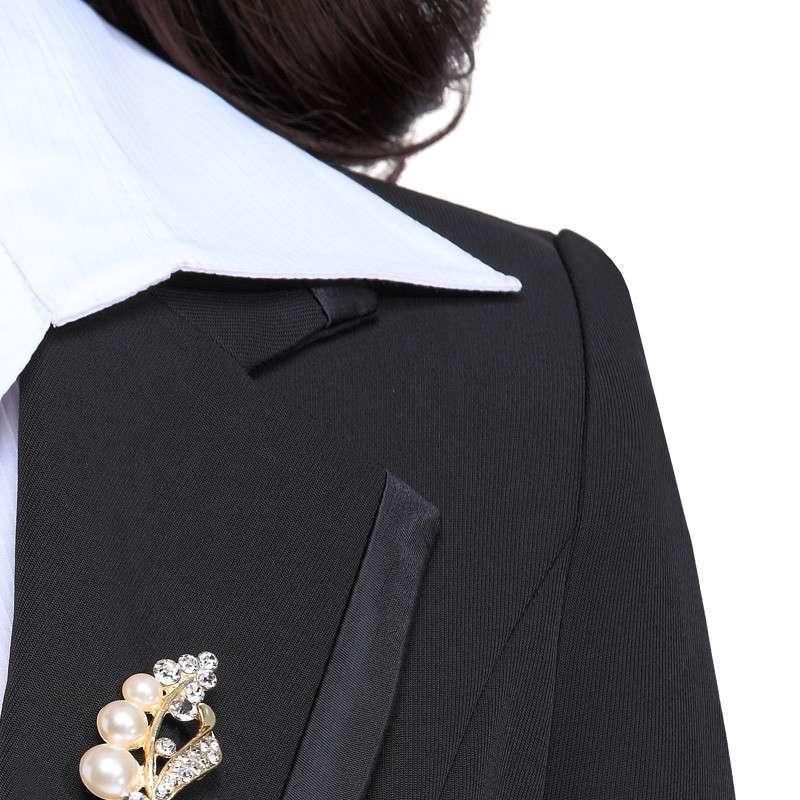 装女装西装套装女欧美酒店工作服秋冬气质女士正装