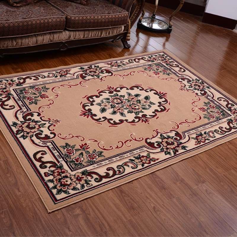 宫廷奥比松地毯133*190cm丙纶欧式客厅卧室沙发