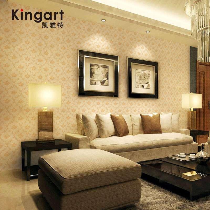 凯雅特壁纸经典欧式pvc墙纸客厅电视卧室床头背景高清实拍图图片