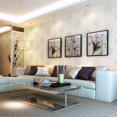 凯雅特壁纸欧式两版发泡无纺布除甲醛墙纸卧室客厅电视床头背景墙