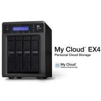 西部数据(WD) My Cloud Ex4系列云存储 无盘机柜 WDBWWD0000NBK-SESN
