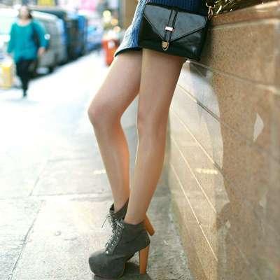 制服丝袜偵`mi+�[���_miilo已 韩版时尚冰爽隐形丝袜 超薄珠光丝袜 透明油亮连裤袜打底袜