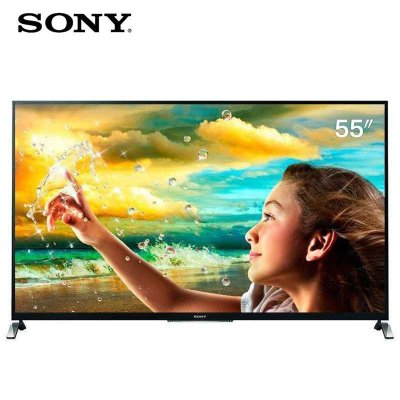 SONY 索尼 KDL-55W950B 55寸 3D电视(迅锐PRO、特丽魅彩、XR400倍速)5999元包邮
