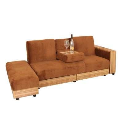 【瑞信家具旗舰店沙发】宜家风格简约欧式折叠双三人
