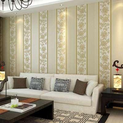 新中式刺绣壁纸贴图