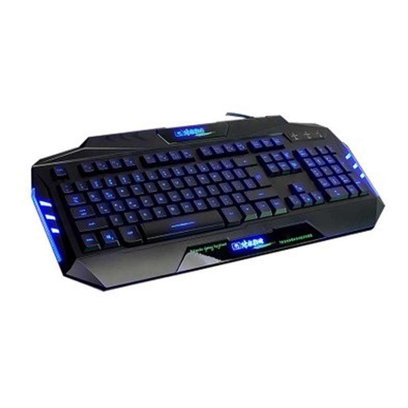 新盟 炼狱狂蛇k28 游戏键盘 有线 背光键盘 笔记本usb 电脑 键盘