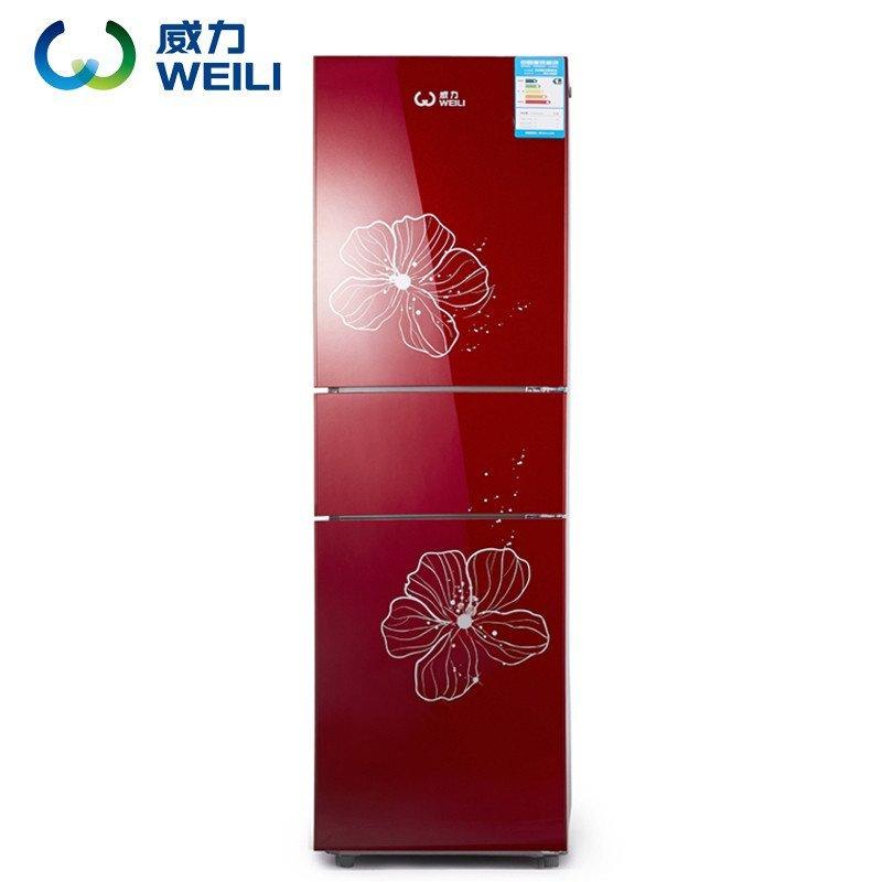 威力(WEILI) BCD-205GS 205升 三门冰箱(红山茶)
