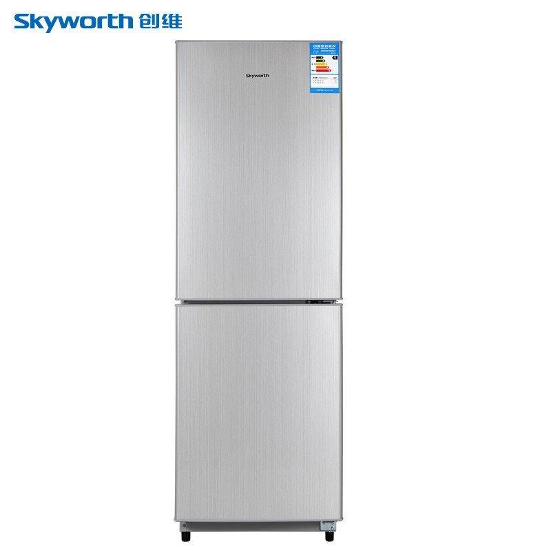创维(Skyworth) BCD-210 210L 双门冰箱(银色)