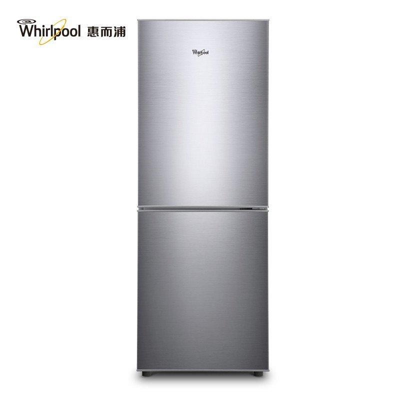 惠而浦(Whirlpool)BCD-179M2S 179升两门冰箱(绚丽银)
