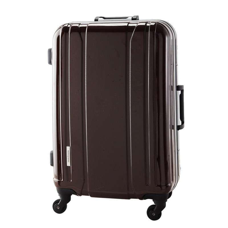 名将8010新款拉杆箱旅行箱行李箱子托运登机铝框亮面 20/24/28寸 酷