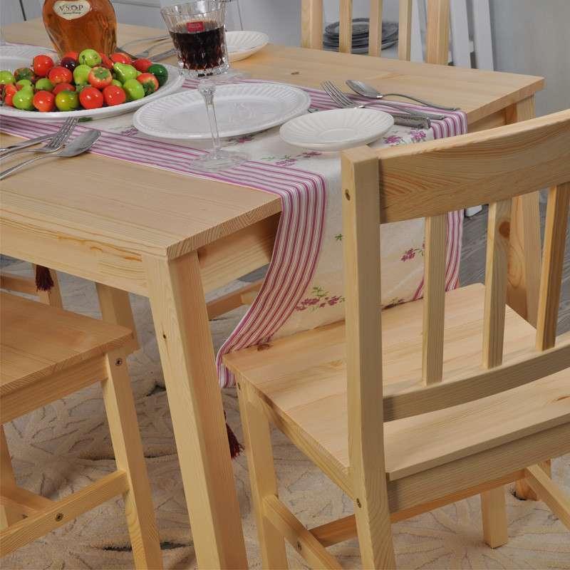 青岛一木家具 松木餐桌椅组合套装 宜家简约田园饭桌子 实木家具