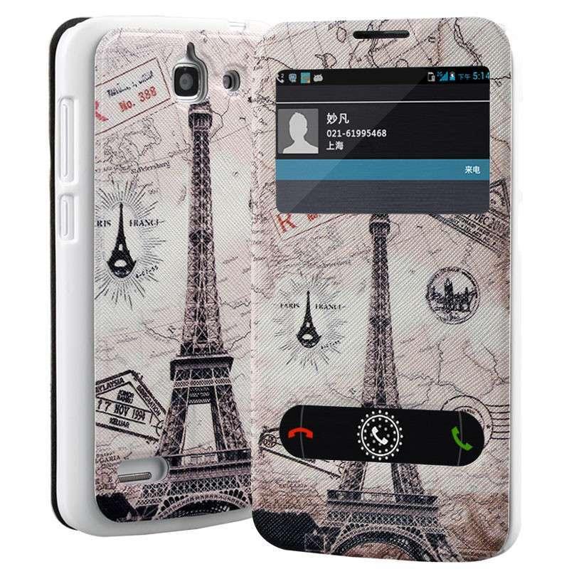 华为手机内含的巴黎铁塔图片