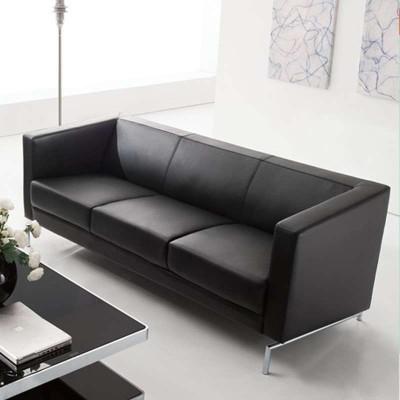 好环境家具五人位办公沙发 商务三人位沙发 简约休闲沙发 会客沙发