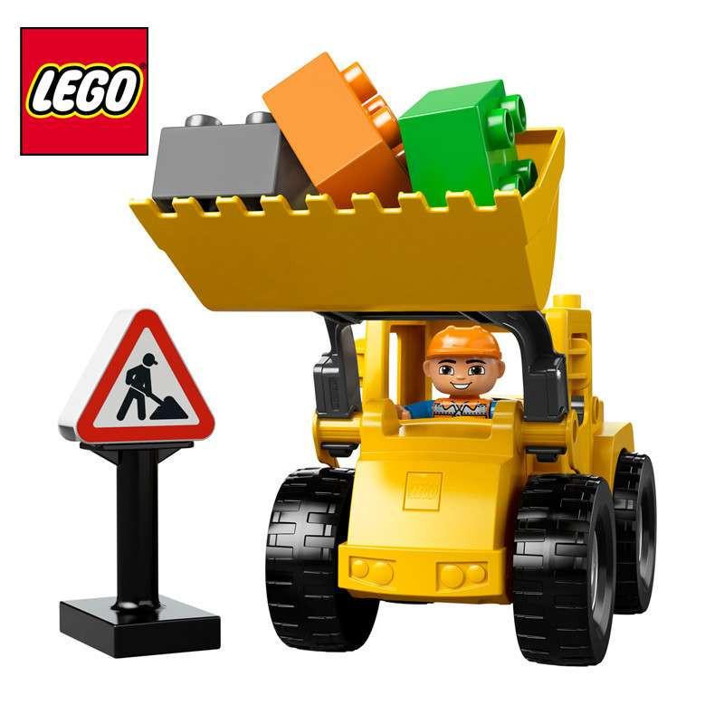 乐高/lego 大型铲车积木模型拼装玩具l10520