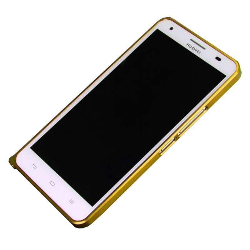 华为荣耀3x超薄金属边框 荣耀3x手机套 华为3x保护壳 荣耀3x边框 黑色