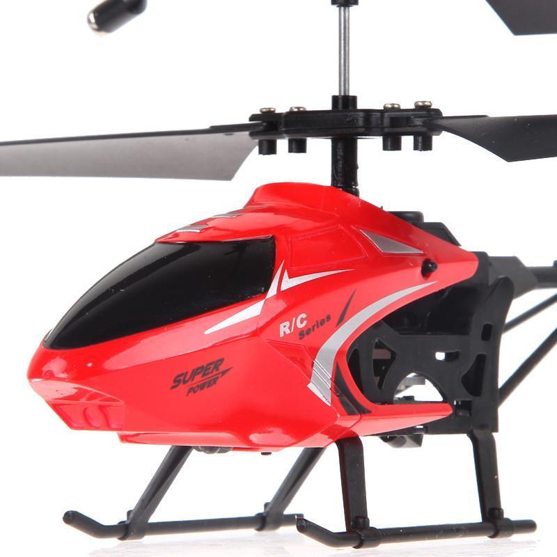 活石 两通遥控飞机 耐摔升级版遥控玩具充电动直升飞机模型 儿童节日