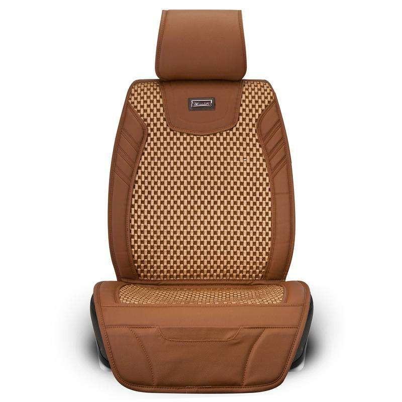 牧宝汽车座垫坐垫 高档镂空丝网布精织机编垫