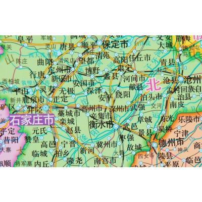 幼儿园墙面设计中国地图