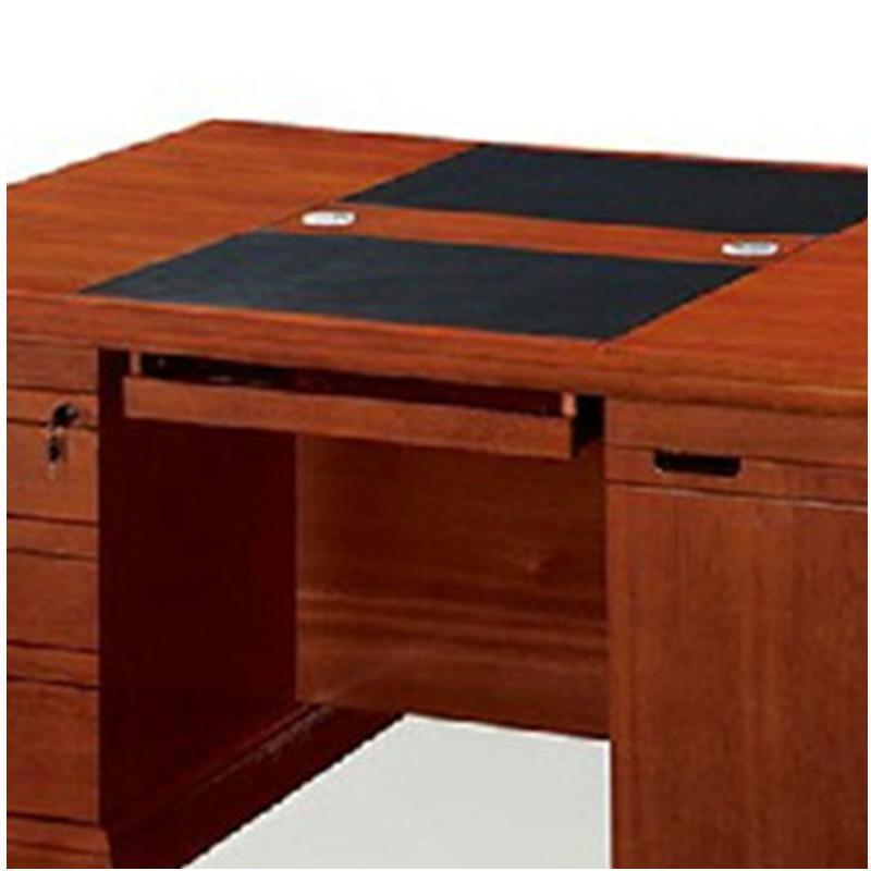 好环境家具双人位办公桌实木电脑桌2人位财务桌1