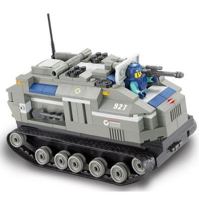 小鲁班积木 特种部队/特遣侦察队 儿童拼装益智玩具 乐高式 449片小