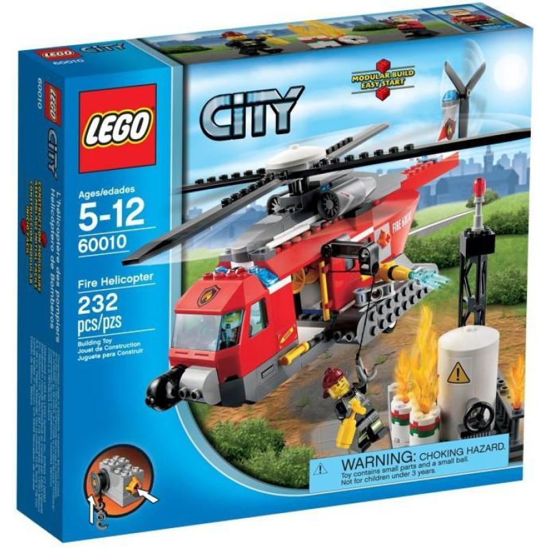 乐高lego 60010 城市系列 消防直升机 new 2013高清实拍图