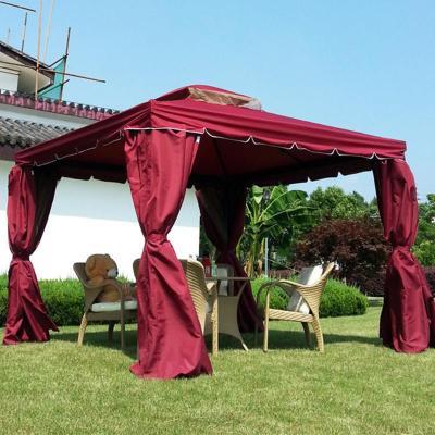 园】高档铝合金花园罗马帐篷户外凉亭子庭院帐篷户外遮阳伞棚欧式豪华
