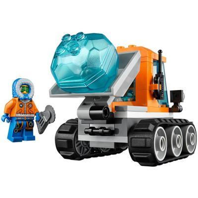 乐高得城市系列玩具北极