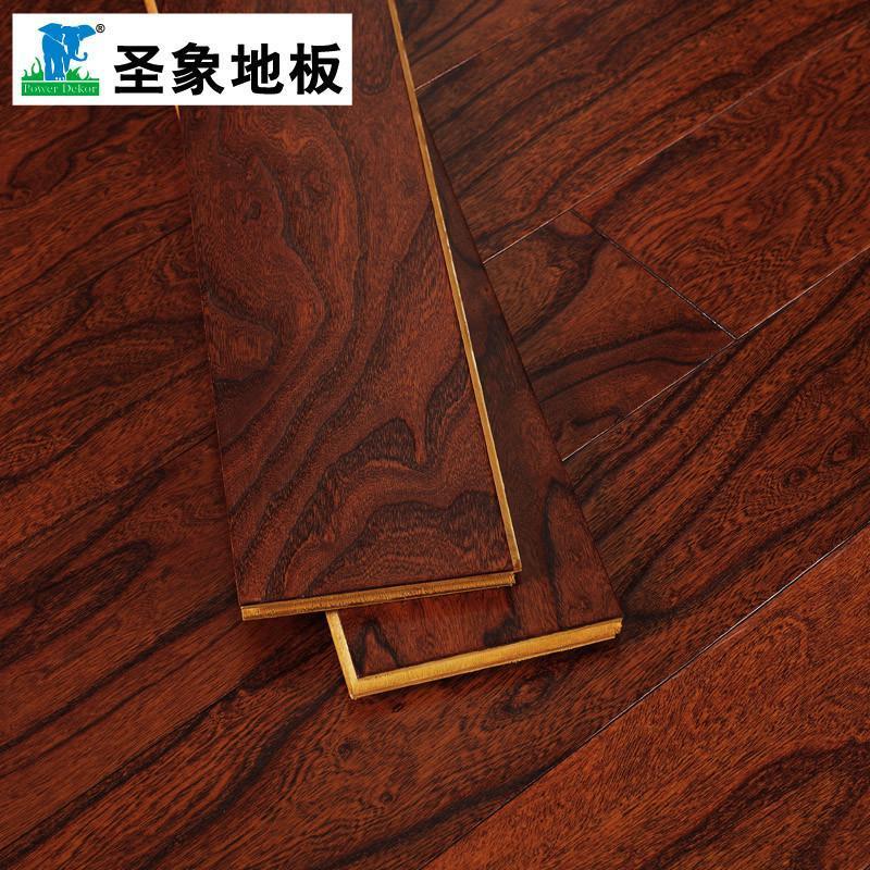圣象多层实木复合木地板榆木na2178榆巧恋曲适地暖