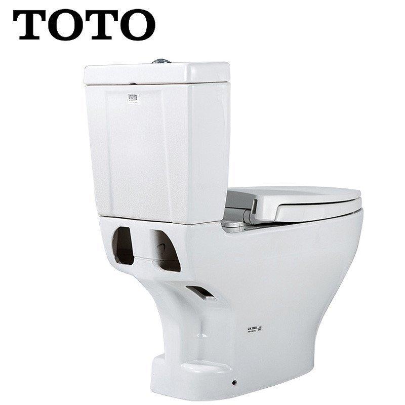toto卫浴智洁节水分体加长坐便器抽水马桶座便器cw