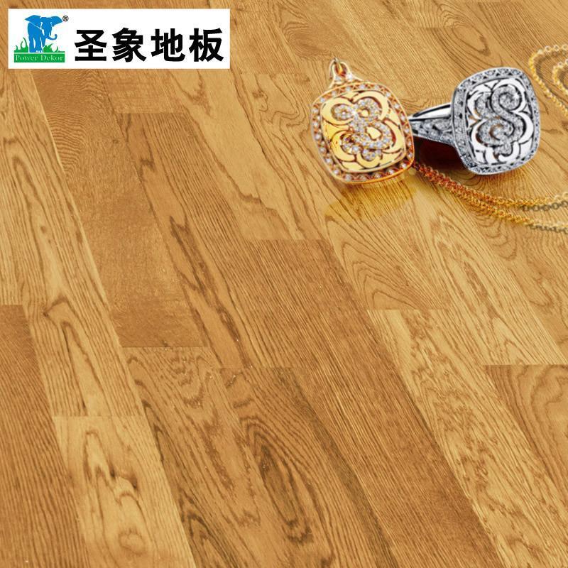 圣象康逸三层实木复合木地板nk1007蓝山橡木适地暖厂