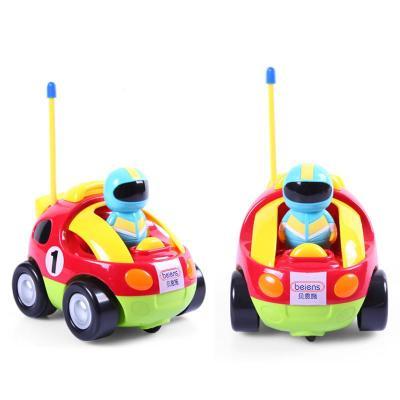 贝恩施儿童卡通qq遥控汽车玩具