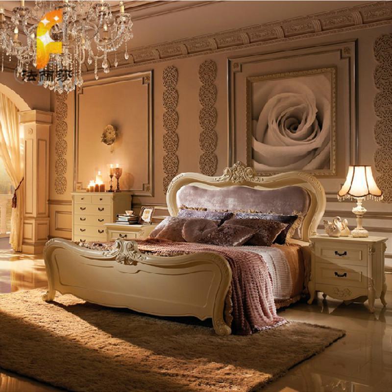 卧室 床 欧式床