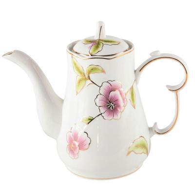 9头陶瓷茶具套装 欧式花茶
