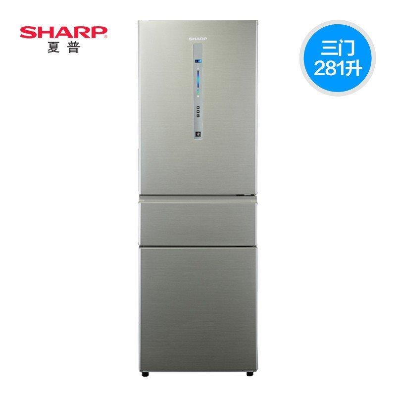 夏普冰箱BCD-281WVP-N
