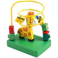 丹妮奇特彩色卡通小绕珠1-2岁宝宝玩具认知动