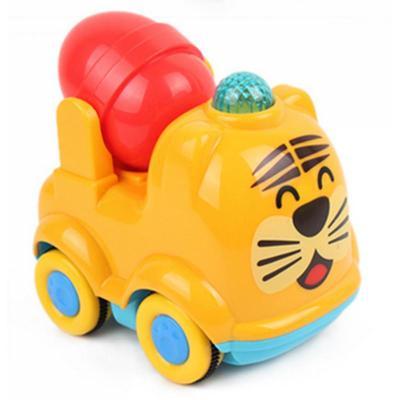 创发儿童玩具车 童车惯性回力小车 宝宝可爱动物发条车 儿童早教玩具
