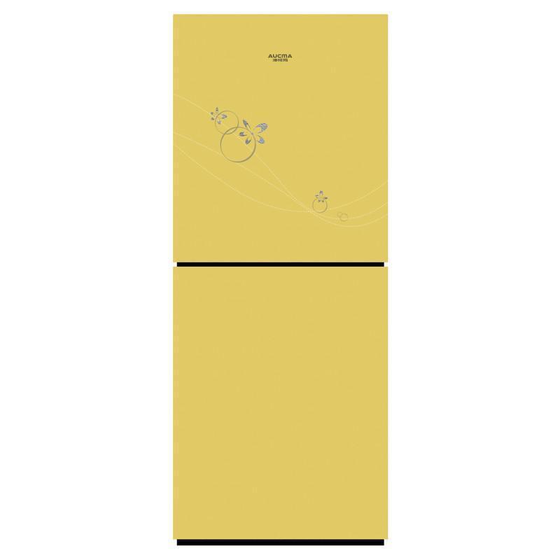 澳柯玛冰箱BCD-215UG,炫彩金