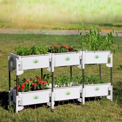 阳台立体花架种植箱 多层种菜育苗盒
