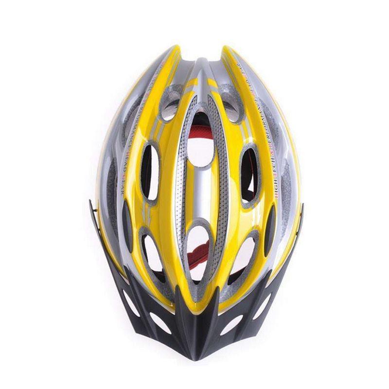 台湾gub x5头盔 自行车一体成型头盔 山地车头盔 骑行帽新 蓝色