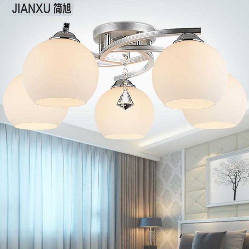 简旭灯饰 客厅灯卧室灯吸顶灯 现代简约欧式灯具玻璃艺术灯 mt-026 5